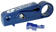 New Cable Pro PSA59/6 Coax Cable Drop Stripper Flaring