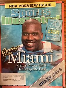 Sports Illustrated October 25, 2004 -Shaquille O'Neal