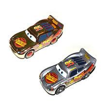 Disney Pixar Cars Diecast Gold Silver Metallic Finish Rust-eze Lightning Mcqueen