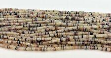 Hammer Shell Heishi Beads  24 Inches Strand 2-3  mm