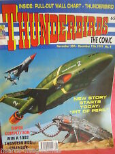 THUNDERBIRDS INTERNATIONAL RESCUE 1991 ISSUE # 4 & WALL CHART RARE
