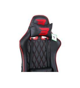 BraZen Phantom Elite PC Gaming Chair - Replacement Seat Back - Red