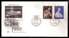 VATICAN 1964 FIRST DAY COVER, NEW YORK WORLD'S FAIR !!!