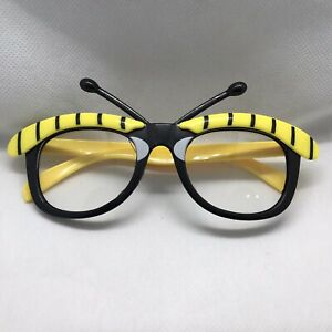 Bumble Bee Fancy Dress Glasses Adult Size.