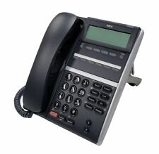 Nec Dtz 6de 3bktel Dt400 Phone Dze6dw 3bk Black Refurb 1 Year Warranty
