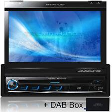 AUTORADIO MIT DAB+ GPS NAVIGATION BLUETOOTH TOUCHSCREEN DVD USB SD Doppel 1DIN 7