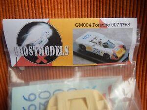 PSK Ghostmodels PORSCHE 907 Slot Car kit. TF '68 GM004/2 Proto Slot Model Racing