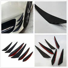 Synthetic Plastic New Good Quality Car Front Bumper Spoiler Wing Lip Splitter