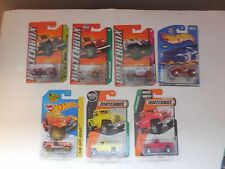 Matchbox & hotwheels lot of 7 Jeeps willys huricane roll patrol cj-7 t hunt
