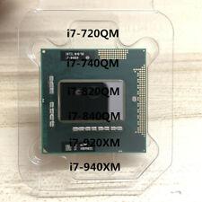 Intel Core i7-720QM i7-740QM i7-820QM i7-840QM i7-920XM i7-940XM Socket G1 CPU