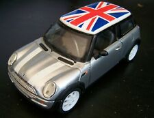BMW MINI ONE - MINI COOPER (Union Jack) 1/24 Scale Model