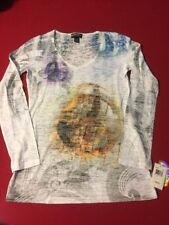 Sey Esteem Women's  Blouse, size L multi colored,