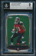 2014 Topps Chrome rookie #185A Mike Evans rc BGS 9 Mint