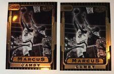 2 Marcus Camby RCs 1996 Bowman's Best Retro #TB19 - Toronto Raptors & Huskies