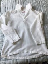 Chemise tunisienne blanche 100% coton style lin DPAM en tres bon etat