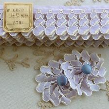 Antique Embroidered Lawn Petals for Appliques