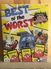 NEW Best of the Worst Board Game Family Game Night Imagination Funny Stories