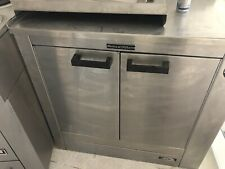 More details for commercial electrical double hot cupboard food warmer by scotts of oldham