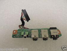 GENUINE HP DV9000 Series Audio I/O Port Board w/ Cable DA0AT9AB8C9
