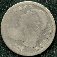 1833 HIGH 3 (G) 10C SILVER CAPPED BUST DIME