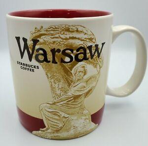 2014 Starbucks Warsaw Poland 16 oz mug for display only