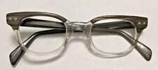 Vintage Gray Tone Arnel Style 1960S Eyeglass Frame Usa 44X22 5.5�