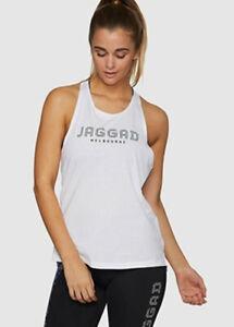Jaggad Women's Oberg Racerback Singlet Activewear Yoga Workout Tank Top Vest M L