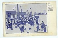 Midway at the New York State Fair SYRACUSE NY Vintage Postcard