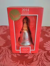 Lenox 2014 Annual Musical Bell Christmas Ornament Kirk Stieff Limited Edition