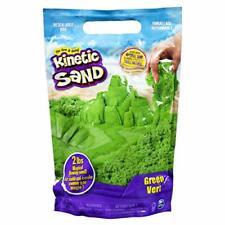 Kinetic Sand The Original Moldable Sensory Play Sand, Green, 2 Pounds Green