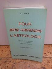 """Cartomancie ésotérisme Oracle """"Pour mieux comprendre l'Astrologue"""" par Brahy"""