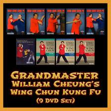 Grandmaster William Cheung's Complete Wing Chun Kung Fu (9 DVD Set)