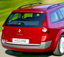 Renault MEGANE MK II Estate CHROME Rear Trim Strip Trunk Tuning Tailgate Garnish