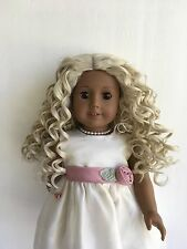 """18"""" doll wig size 10-11 will fit American Girl, Madame Alexander(103)"""