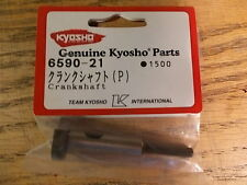 6590-21 Crankshaft (P) - Kyosho Airplane Aircraft Nitro Engine