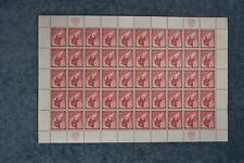 1959 Airmail Full Sheet - C6 - MNH