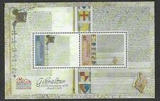 Gibraltar-800th Anniv.Magna Carta mnh 2015 min sheet