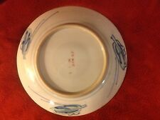 Vintage Signed Handpainted Japanese Imari Plate Excellent cond c1860s