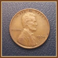 1939 P Lincoln Wheat Cent, 1 (One) Coin, Nice VF to EF Grades (Stock Photo)
