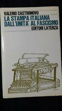 Castronuovo: La stampa italiana dall'unità al fascismo. Laterza, 1970