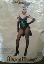 Magical Mystique Showgirl Adult Women Costume Cinema Secrets USA 465 New Last L