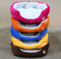 Waterproof Warm Soft Fleece Puppy Pet Dog Cat Bed House Basket Nest Cushion Mat