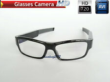 Outdoor portable 720p FULL HD VIDEO SPY CAMERA GLASSES WITH DETACHABLE BATTERY
