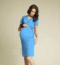 Umstandskleid~Sommerkleid~Shirtkleid~Kleid~Gr.S/M  36/38  türkis ~auch in L/XL