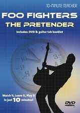 10 Minute Teacher Foo Fighters The Pretender Learn to Play TAB Guitar DVD