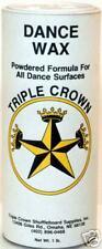 DANCE FLOOR POWDER WAX - PROVIDES A PERFECT SURFACE!