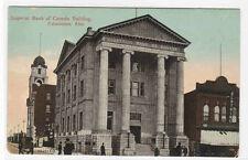 Imperial Bank Edmonton Alberta Canada 1910c postcard