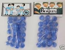 2 BAGS OF THE BEATLES ROCK & ROLL COLLECTOR MARBLES