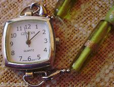 Reloj de mujer marca Geneva Quartz en buen estado,Japan Movt.,resistente al agua