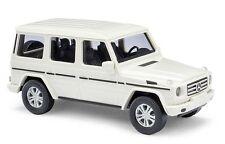 BUSCH 51451 Gauge H0 Mercedes-Benz G class 2008 white #NEW